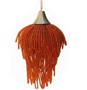 Pendant Light, Avian Orange