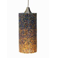 Cylinder, Copper Pendant Light
