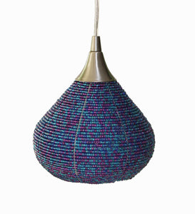 Pendant Light, LeGourde Blue