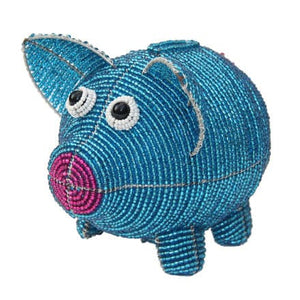 Piggy Bank, Blue