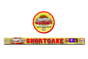 Shortcake press tin labels