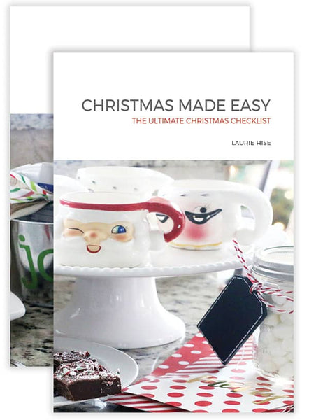 *PRICE DROP* Christmas Made Easy: The Ultimate Christmas Checklist