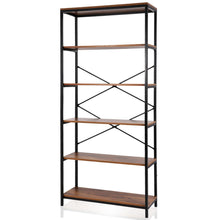 Load image into Gallery viewer, Shop for eshion children bookcases 4 layer shelf storage bookshelf furniture adjustable book shelving us stock one size 5505 5 shelf brown