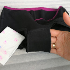 Patented EiVi period panties double gusset