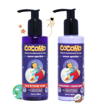 Moon Sparkle Body Wash + Sunscreen