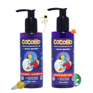 Moon Sparkle Shampoo + Body Wash