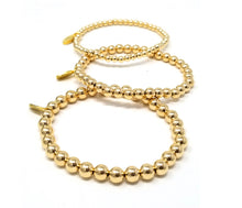 Load image into Gallery viewer, 14kt Gold Filled Set of 3 Bracelets