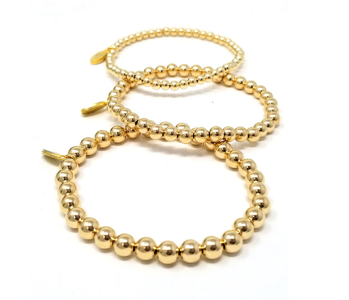 14kt Gold Filled Set of 3 Bracelets