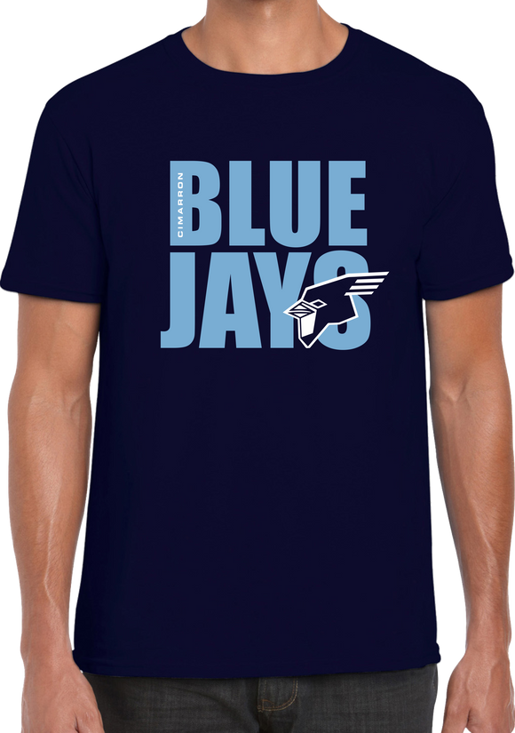 Cimarron BlueJay Tee- Sizes Left (AM,AL, YL)