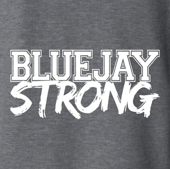 BLUEJAY STRONG- ADULT LARGE ONLY!