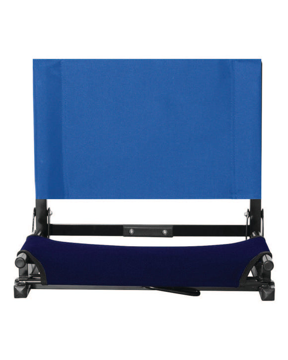 Wide Seat Folding Stadium Chair