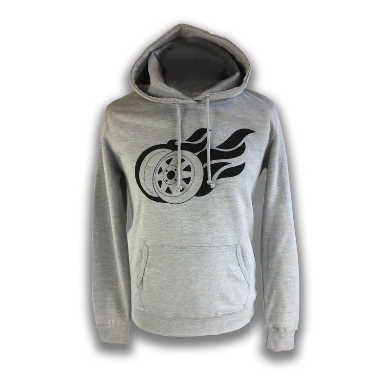 Womens Flaming 8 Spoke Hoodie