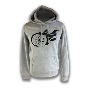 Mens Flaming 8 Spoke Hoodie