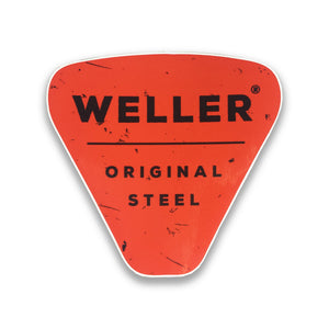 Original Steel Logo Sticker