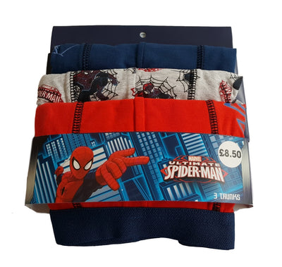 3 pack boys boxer shorts