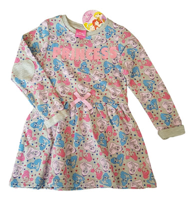 Girls long sleeve Disney Princess dress