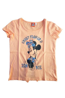 Peach Minnie Mouse Tshirt
