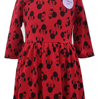 Girls Minnie Mouse Party Dress