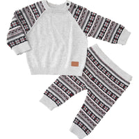 Baby Boys Xmas Fine Knit Set