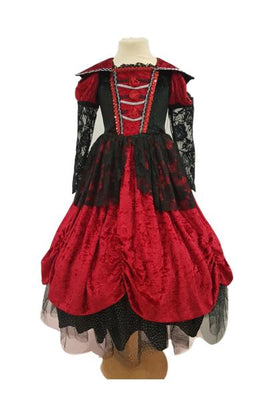 Girls Halloween dress Vampirella