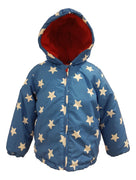 Baby Boys Stars Winter Coat 6-12 months
