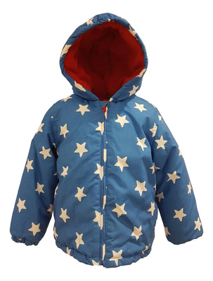 Boys Stars Winter School Coat
