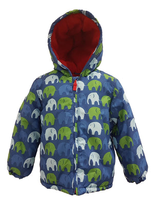 Boys Elephant Winter School Coat