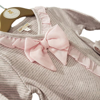 Baby Girls Bow Babygrow and Hat by MINTINI
