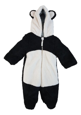 Baby Boys panda snowsuit