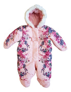 Baby girls winter snowsuit