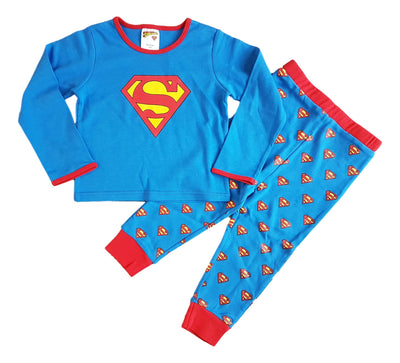 Baby Boys superman pyjamas