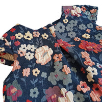 Baby Girls Textured Floral Shift Dress