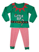 Boys girls christmas xmas elf pyjamas