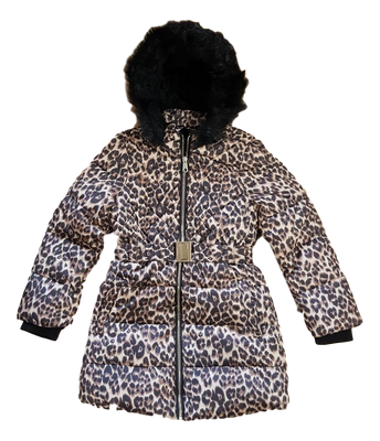 Older girls winter school coat with hood