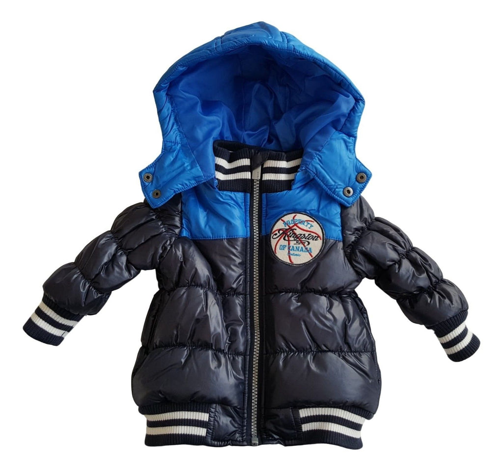871c7b33f Baby Boys Winter Bomber Jacket Coat by Minoti