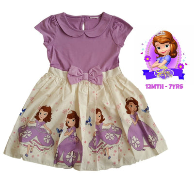 Disney princess Sofia Party Dress