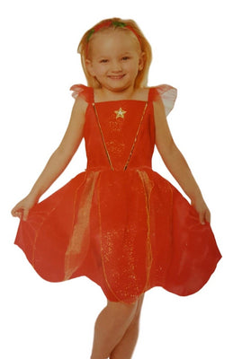 Girls Christmas Fairy Dress