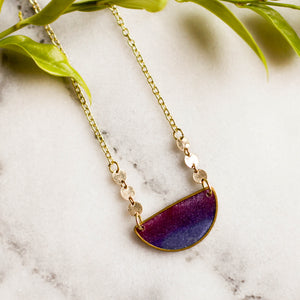 Mood Swings Necklace - Twilight