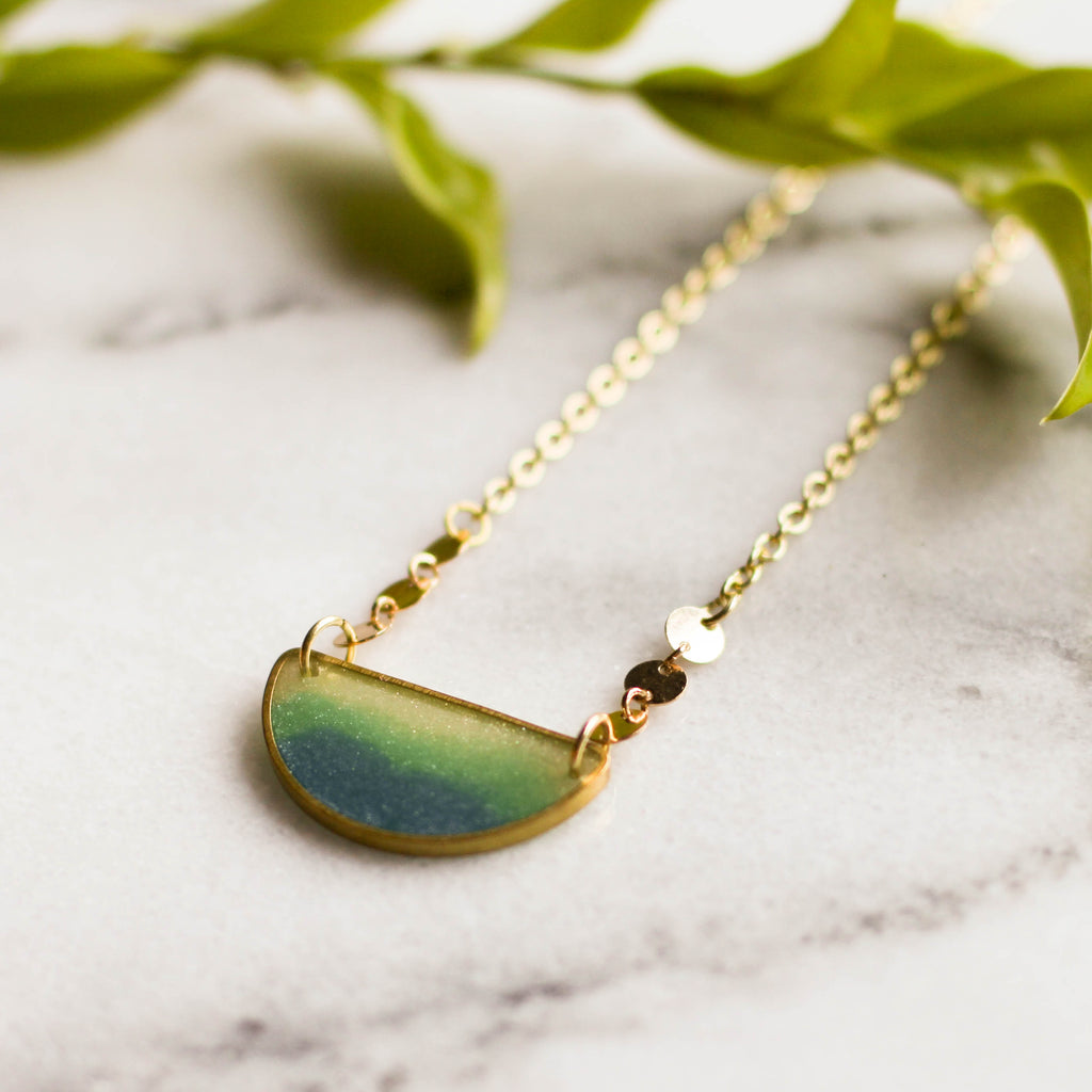 Mood Swings Necklace - Ocean