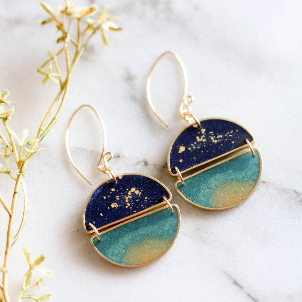 Night Swimming Earrings
