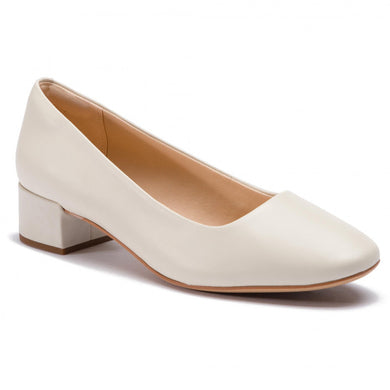 Clarks Orabella Alice White leather