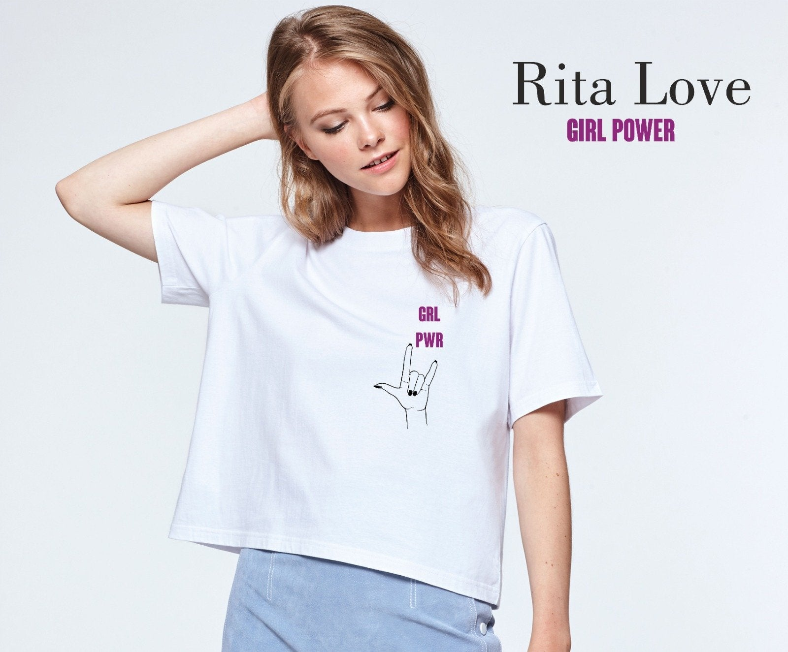 Camiseta GRL POWER