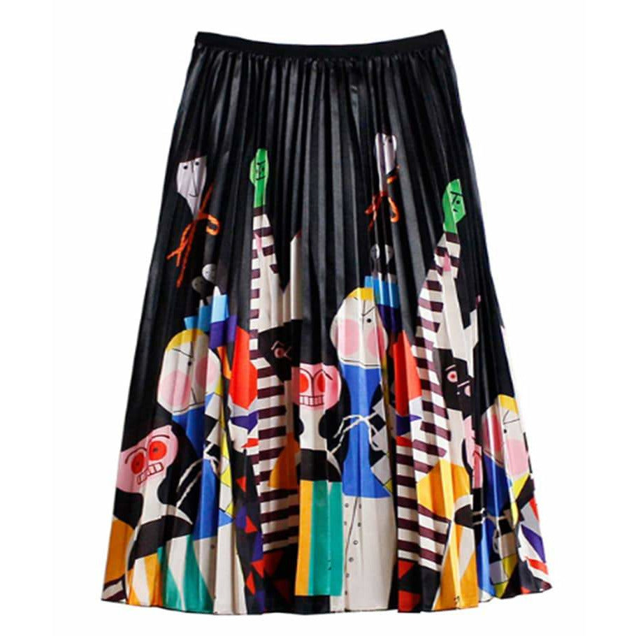 Carnivale Pleated Skirt