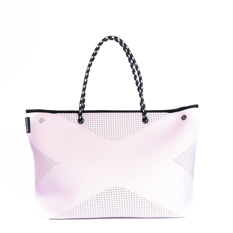 PRENE THE X BAG NEOPRENE TOTE BAG PINK