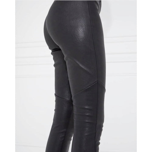 Ena Pelly Leather Leggings