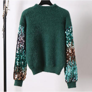 Tinkerbelle Sweater Emerald
