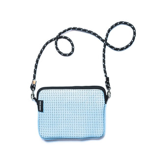 PRENE THE PIXIE BAG NEOPRENE CROSSBODY BAG BLUE