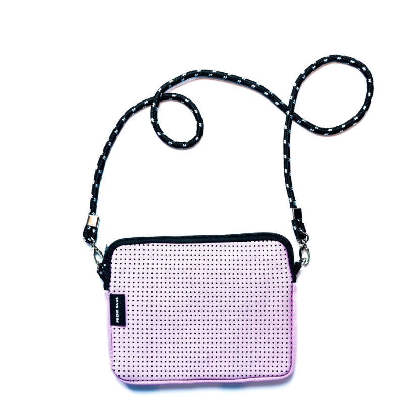PRENE THE PIXIE BAG NEOPRENE CROSSBODY BAG PINK