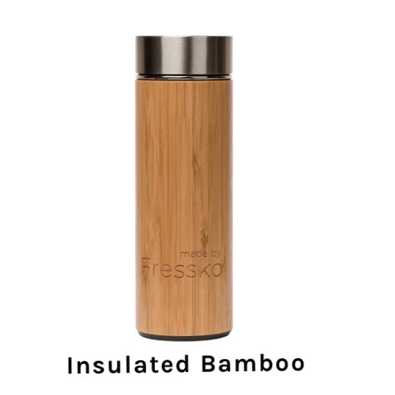 Insulated Bamboo Flask