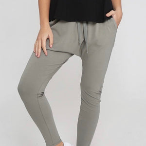 Drop Crotch Pant Khaki